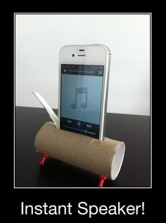 oh my ...  :)  toilet-paper roll