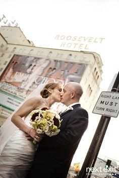 a kiss, hotel la, roosevelt hotel, thompson hotel, nose kiss