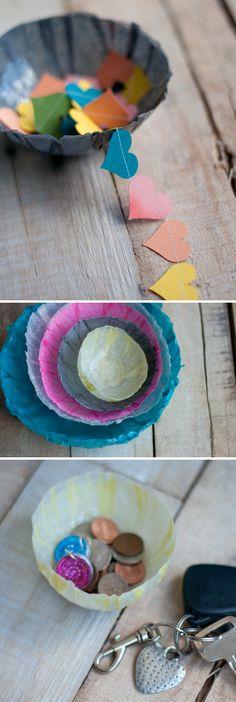Tissue Paper Bowls