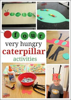 4 Very Hungry Caterpillar Activities from Toddler Approved