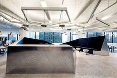 McCann Offices by Design Research Studio; Form + Furniture