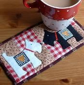 Scottie Dog Mug Rug