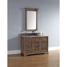 "James Martin 48"" Single Bathroom Vanity, Solid Wood, Driftwood 238-104-5211"