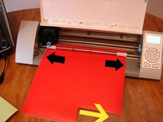 Cutting vinyl without the mat and cutting vinyl larger than 12x12.