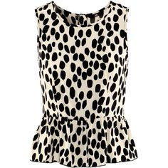 H Blouse ❤ liked on Polyvore