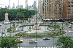 Columbus Circle from TimeWarner Center  NYC