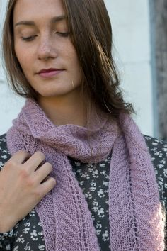 martha's scarf by martha marques / quince and co piper