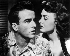 Montgomery Clift & Donna Reed in From Here to Eternity (1953)