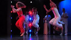 Samba Reggae Brazilian samba fitness video with Quenia Ribeiro