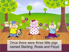 """FREE ebook app Three Little Pigs - A Play (reg 4.99) 7/18/14 """"""""Three Little Pigs – A Play"""" is a totally interactive story for ages four and up."""""""