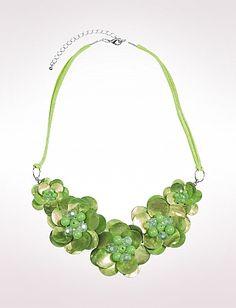 Shell Flower Necklace   Dressbarn