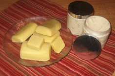 Homemade Body Butter and Lotion Bars