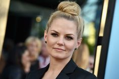 "How amazing does Jennifer Morrison look in the Green Agate Fab-You-Luss earrings at the ""Wish I Was Here"" Premiere #WishIWasHere #GreenAgate"