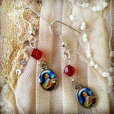 Delicate Nun earrings by gigideluxe on Etsy, $25.00