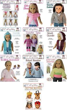 Doll Tag Clothing...doll cloth to crochet