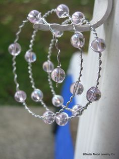 Sister Moon Presents Tiny Bubble In My Wine by SisterMoonJewelryCo, $10.00
