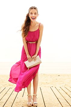 Pretty pink dress from old navy