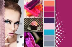 Spring / Summer 2015 Color Inspirations: Dots and Lashes