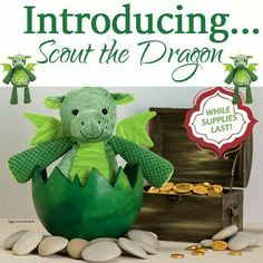 Scout the Scentsy Dragon! Our little ones adore theirs!