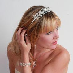 Beautiful Grecian Headband at www.lolaandi.com