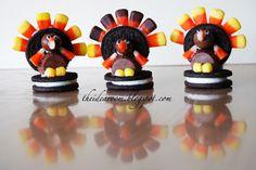 Turkey Oreo cookies-for-thanksgiving theidearoom.net