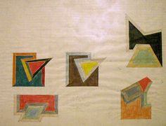 """Studio and Garden: A Question of Size: Frank Stellas's """"Irregular Polygons"""""""