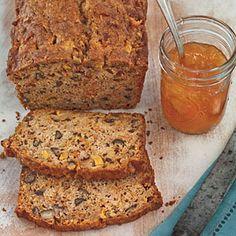 Fresh Summer Peach Recipes | Spiced Peach-Carrot Bread | SouthernLiving.com