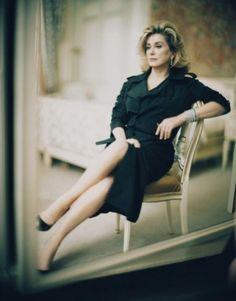 Catherine Deneuve by Paolo Roversi.