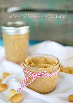 Almond & Macadamia Nut Butter #projectinspired #whatagreatidea