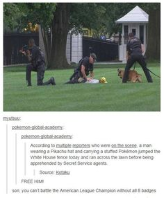 """For the first time in history, """"tackle"""" was super effective"""