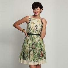 Eva Franco | Retro Violet Dress English Ivy