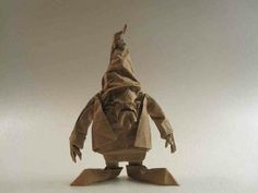 Origami Gnome From Photos from Better Gnomes  Cauldrons's post