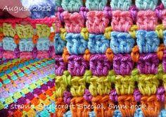 Suz Place: Pastel Block Stitch..how to do. ❥Teresa Restegui http://www.pinterest.com/teretegui/ ❥