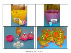 Easter egg synonym and antonym activities
