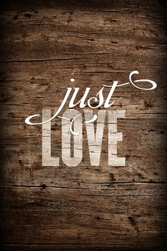 just LOVE. <3 {beautiful thought & design}