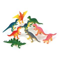 3-inch Dinosaurs (Bulk Pack of 12 Dinos) at theBIGzoo.com, a toy store featuring 3,000+ stuffed animals.