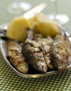 Sardines grillées à l'ail et à l'origan