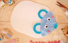 Mouse Pad de Ratinho de Feltro (PAP com molde) * BoniFrati