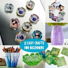 12 of the easiest crafts EVER for beginners!