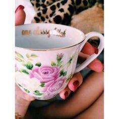 one classy bitch tea cup, tea time, shay mitchell, instagram, bitch teacup, classi bitch, teas, cheeki teacup, teacups