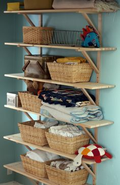 Sycamore Street Press: our place ///// Bedroom Shelves - laundry room??