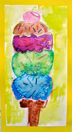 Cassie Stephens: In the Art Room: I Scream, You Scream