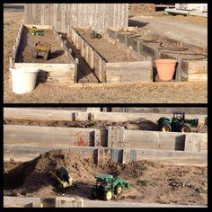 backyard ideas, raised gardens, farm kid, kid stuff, raised garden beds, fun backyard