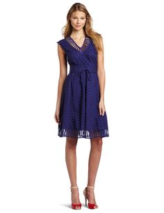 traci rees, cloth, style, blue, dress, rees women, peekaboo frock, plenti, women peekaboo