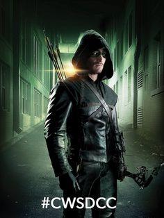 Stephen Amell Arrow Season 3 Comic-Con Poster