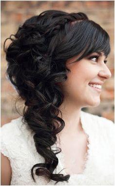 bridesmaid hair, wedding styles, long hair, hairstyle ideas, hair wedding