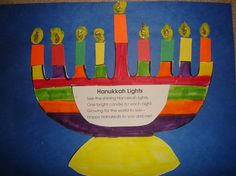 Hanukkah craft and information