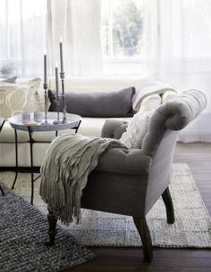 Vardagsrum i mjuk pastell  Leva & bo  Heminredning Allt för Hus ...