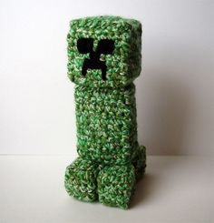 Crocheted Minecraft Creeper    My son wants one of these @Becky Hui Chan Joyce