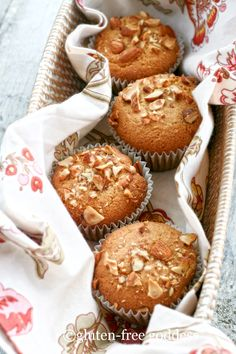 Gluten-Free Orange Almond Muffins. #food #gluten_free #breakfast